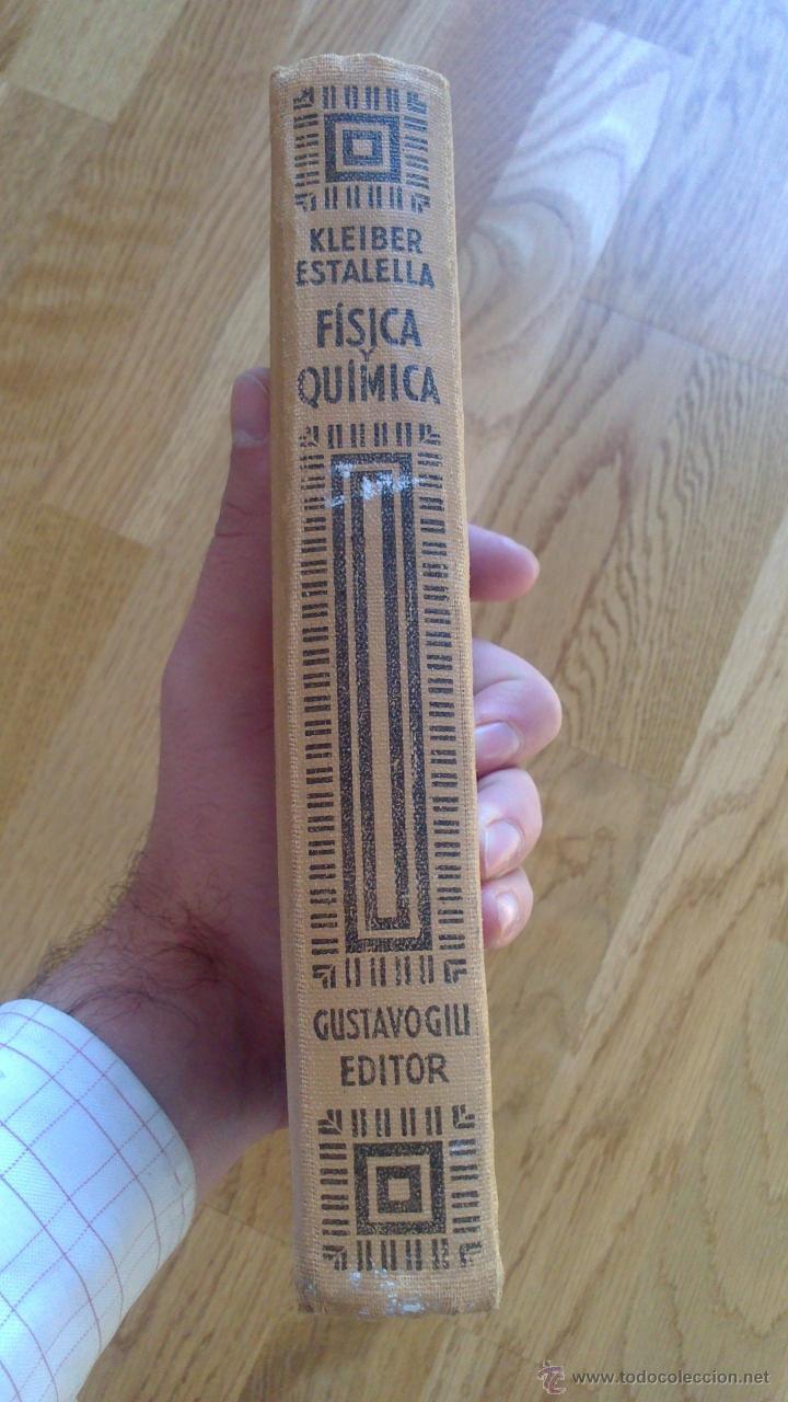 Libros de segunda mano de Ciencias: COMPENDIO DE FÍSICA Y QUÍMICA / KLEIBER , ESTALELLA - Foto 2 - 39935757