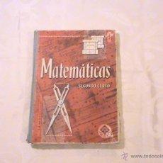 Livres d'occasion: MATEMÁTICAS SEGUNDO CURSO. . Lote 40323408