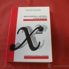 Libros de segunda mano de Ciencias: BIOESTADÍSTICA MÉTODOS Y APLICACIONES. Lote 40360341