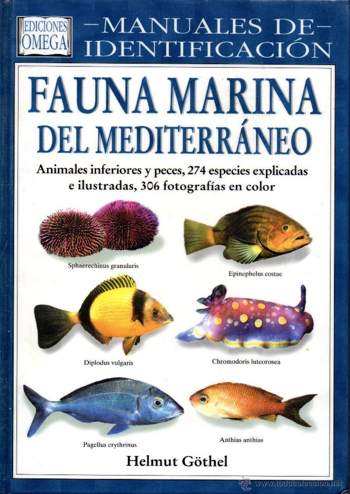 libro manuales de identificacion fauna marina - Comprar Libros de ...