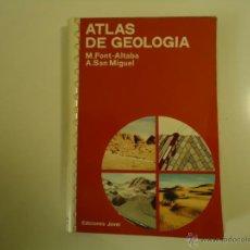 Libros de segunda mano: ATLAS DE GEOLOGÍA. Lote 40664933