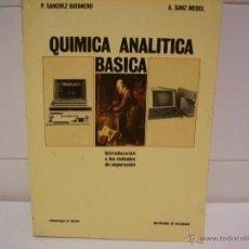 Libros de segunda mano de Ciencias: QUIMICA ANALITICA BASICA. Lote 40772340