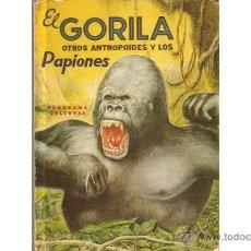 Libros de segunda mano: EL GORILA OTROS ANTROPOIDES Y LOS PAPIONES, POR A. CARNEIRO - NOVARO - MÉXICO - 1962 - RARO!. Lote 40849342