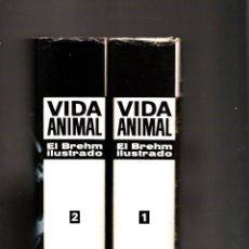 Libros de segunda mano: VIDA ANIMAL EL BREHM ILUSTRADO PLAZA & JANÉS PRIMERA EDICIÓN 1970. Lote 40879623