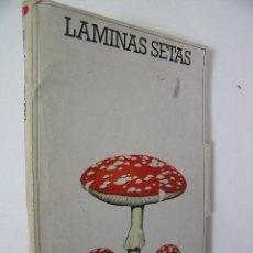 laminas setas,laboratorio emyfar,44 laminas,1976,ref botanica c1