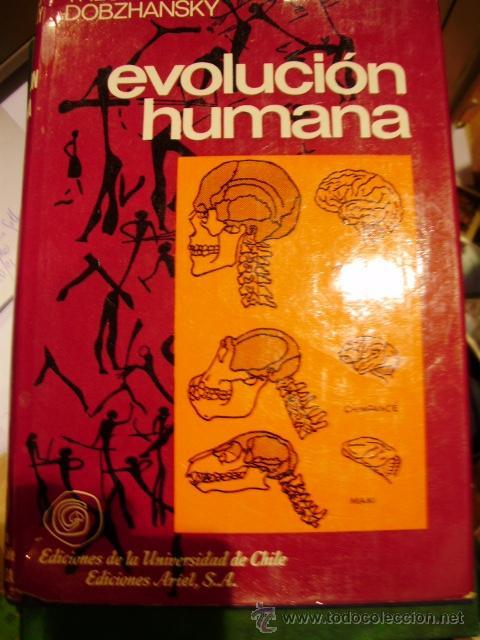 EVOLUCIÓN HUMANA. EVOLUCIÓN DE LA ESPECIE HUMANA (BARCELONA, 1989) (Libros de Segunda Mano - Ciencias, Manuales y Oficios - Biología y Botánica)