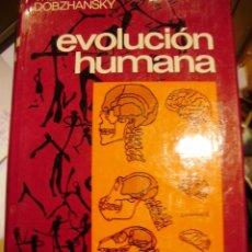 Libros de segunda mano: EVOLUCIÓN HUMANA. EVOLUCIÓN DE LA ESPECIE HUMANA (BARCELONA, 1989). Lote 41099262