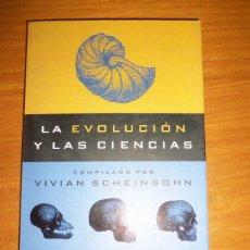 Libros de segunda mano: LA EVOLUCION Y LAS CIENCIAS, POR VIVIAN SCHEINSOHN - EMECE - ARGENTINA - 2001. Lote 41373504