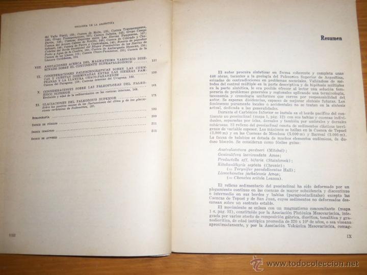 Libros de segunda mano: CARBONICO Y PERMICO DE LA ARGENTINA, por Jorge Polanski - EUDEBA - Argentina - 1978 - RARO! - Foto 3 - 46885000