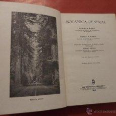 Libros de segunda mano: BOTÁNICA GENERAL. RICHARD M. HOLMAN Y WILFRED W. ROBBINS. 1ª EDICÓN.. Lote 134864173