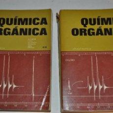 Libros de segunda mano de Ciencias: QUÍMICA ORGÁNICA. TOMOS I Y II. DOS TOMOS. NORMAN L. ALLINGER Y OTROS RM64713. Lote 41531932
