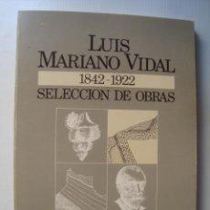 Livros em segunda mão: LUIS MARIANO VIDAL (1842-1922). SELECCIÓN DE OBRAS SOBRE LLEIDA (MUSEU GEOLOGIA 1992) ED. FACSÍMIL. Lote 41544658