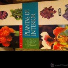 Libros de segunda mano: PLANTAS DE INTERIOR. SUSAETA.. Lote 42395018