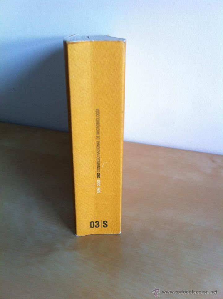Libros de segunda mano: SEM 2003. XIX CONGRESO NACIONAL DE MICROBIOLOGÍA. ------------------------3ª COMPRA ENVÍO GRATIS---- - Foto 5 - 42542860