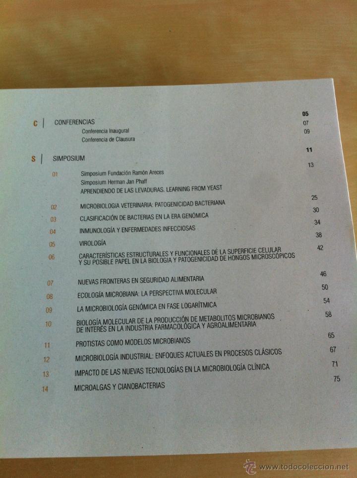 Libros de segunda mano: SEM 2003. XIX CONGRESO NACIONAL DE MICROBIOLOGÍA. ------------------------3ª COMPRA ENVÍO GRATIS---- - Foto 11 - 42542860