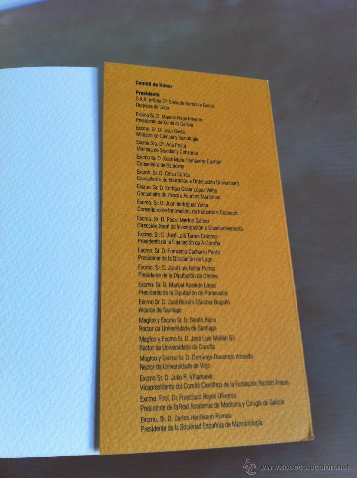 Libros de segunda mano: SEM 2003. XIX CONGRESO NACIONAL DE MICROBIOLOGÍA. ------------------------3ª COMPRA ENVÍO GRATIS---- - Foto 16 - 42542860