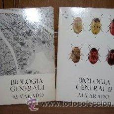 Libros de segunda mano: BIOLOGÍA GENERAL 2T POR SALUSTIO ALVARADO, AUTOEDICIÓN EN MADRID 1970 10ª EDICIÓN. Lote 42764451
