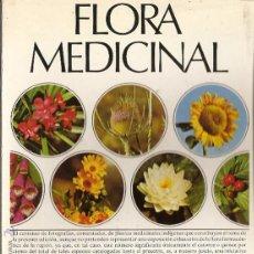 Libros de segunda mano: 100 LÁMINAS ILUSTRADAS A COLOR DE FLORA MEDICINAL, DR. SEOANE, LABORATORIOS EMYFAR, 1974.. Lote 43363436