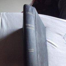 Libros de segunda mano de Ciencias: TRATADO DE GEOMETRIA ANALITICA POR CARLOS MATAIX ARACIL. Lote 43454782
