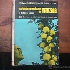 Libros de segunda mano - Variedades americanas de manzana, G. de Ravel d´Esclapon, Oikos-Tau, 1969 - 43603401