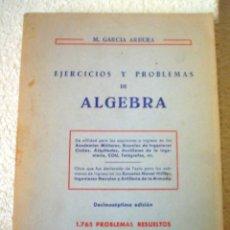 Libros de segunda mano de Ciencias: PROBLEMAS Y EJERCICIOS DE ALGEBRA LINEAL.1.765 PROBLEMAS RESUELTOS.. Lote 43606761