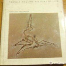Libros de segunda mano: FOSSILS AND THE HISTORY OF LIFE, POR GEORGE GAYLOR SIMPSON (EN INGLÉS) - USA - 1983 - COMO NUEVO!. Lote 43824194
