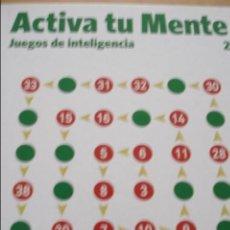 Libros de segunda mano de Ciencias: ACTIVA TU MENTE Nº 2 JUEGOS DE INTELIGENCIA. Lote 43933069