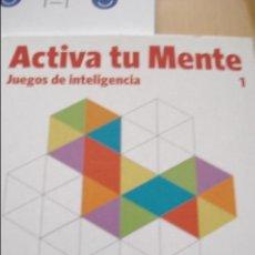 Libros de segunda mano de Ciencias: ACTIVA TU MENTE Nº 1 JUEGOS DE INTELIGENCIA. Lote 43933204