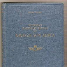 Libros de segunda mano de Ciencias: SISTEMAS RADIOELÉCTRICOS DE NAVEGACIÓN AÉREA .- JOSÉ MARÍA CRUZATE. Lote 43975119