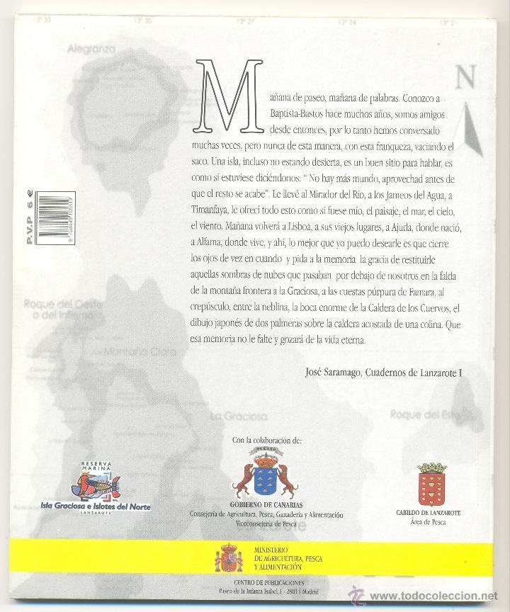 Libros de segunda mano: 2.PAISAJES SUBMARINOS DE LA ISLA GRACIOSA Y DE LOS ISLOTES DE LANZAROTE. (Canarias). - Foto 2 - 44099614