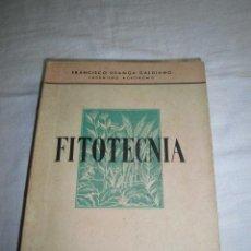 Libros de segunda mano - FITOTECNIA NORMAS GENERALES DE CULTIVO.FRANCISCO URANGA GALDIANO.EDIT.GOMEZ 1948 - 44190862