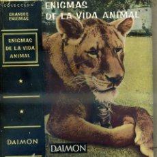 Libros de segunda mano: FREERICKS : ENIGMAS DE LA VIDA ANIMAL (DAIMON, 1964). Lote 44204157