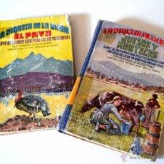 Libros de segunda mano: LOTE DE 2 LIBROS DE LA RIQUEZA EN LA MANO * QUESOS Y MANTECAS * EL PAVO * FERNANDO ALBURQUERQUE. Lote 44206379