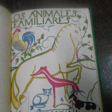 Libros de segunda mano: ANGEL CABRERA LOS ANIMALES FAMILIARES MADRID 1953 COLECCION LIBROS DE LA NATURALEZA ESPASA CALPE. Lote 44311200
