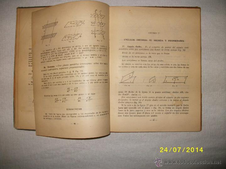 Libros de segunda mano de Ciencias: MATEMATICAS CUARTO CURSO 1955 - Foto 2 - 44390523