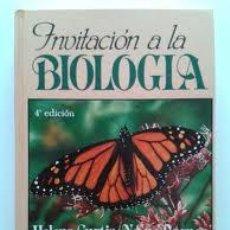 Libros de segunda mano: INVITACIÓN A LA BIOLOGÍA. Lote 44681342