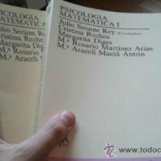 Libros de segunda mano de Ciencias: PSICOLOGIA MATEMATICA I. TOMOS I Y II. UNED. Lote 44932715
