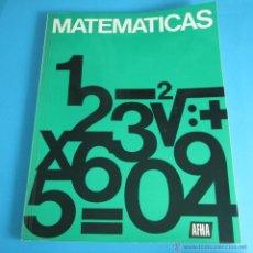 Libros de segunda mano de Ciencias: MATEMÁTICAS. TRATADO DE MATEMÁTICAS BÁSICAS PARA TÉCNICOS. Lote 44941264