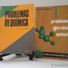 Libros de segunda mano de Ciencias: PROBLEMAS Y EJERCICIOS DE QUIMICA. PROBLEMAS FUNDAMENTALES RESUELTOS. A. ESTEVE SEVILLA. 1974.. Lote 45082607