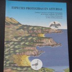 Libros de segunda mano: ESPECIES PROTEGIDAS EN ASTURIAS. CATALOGOS ASTURIANOS DE ESPECIES AMENAZADAS DE LA FAUNA VERTEBRADA. Lote 45082788