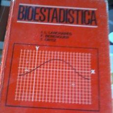 Libros de segunda mano de Ciencias: BIOESTADÍSTICA. ESTADISTICA ELEMENTAL PARA MÉDICOS Y BIÓLOGOS. EST12B3. Lote 45245244