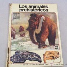 Libros de segunda mano: ANTIGUO LIBRO LOS ANIMALES PREHISTORICOS. Lote 45330009