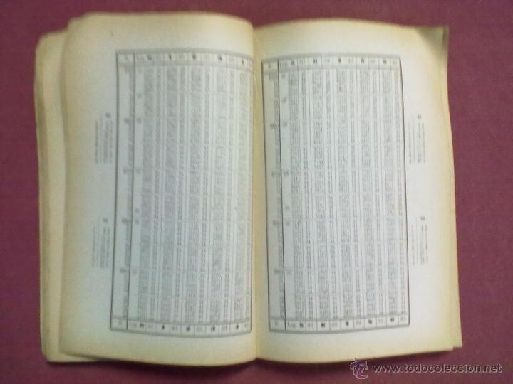Libros de segunda mano de Ciencias: TABLAS DE LOS LOGARITMOS VULGARES 1962 - Foto 4 - 45402289