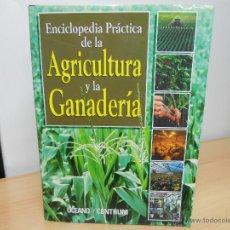 Libros de segunda mano: ENCICLOPEDICA PRACTICA DE LA AGRICULTURA Y LA GANADERIA. Lote 213756252
