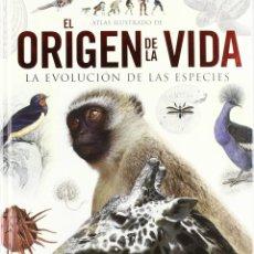 Libros de segunda mano: ATLAS ILUSTRADO DEL ORIGEN DE LA VIDA (LA EVOLUCION DE LAS ESPECIES). Lote 45560297