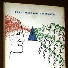 Libros de segunda mano de Ciencias: DIDÁCTICA Y DIALÉCTICA MATEMÁTICAS POR DARÍO MARAVALL DE ED. DOSSAT EN MADRID 1969. Lote 45623713