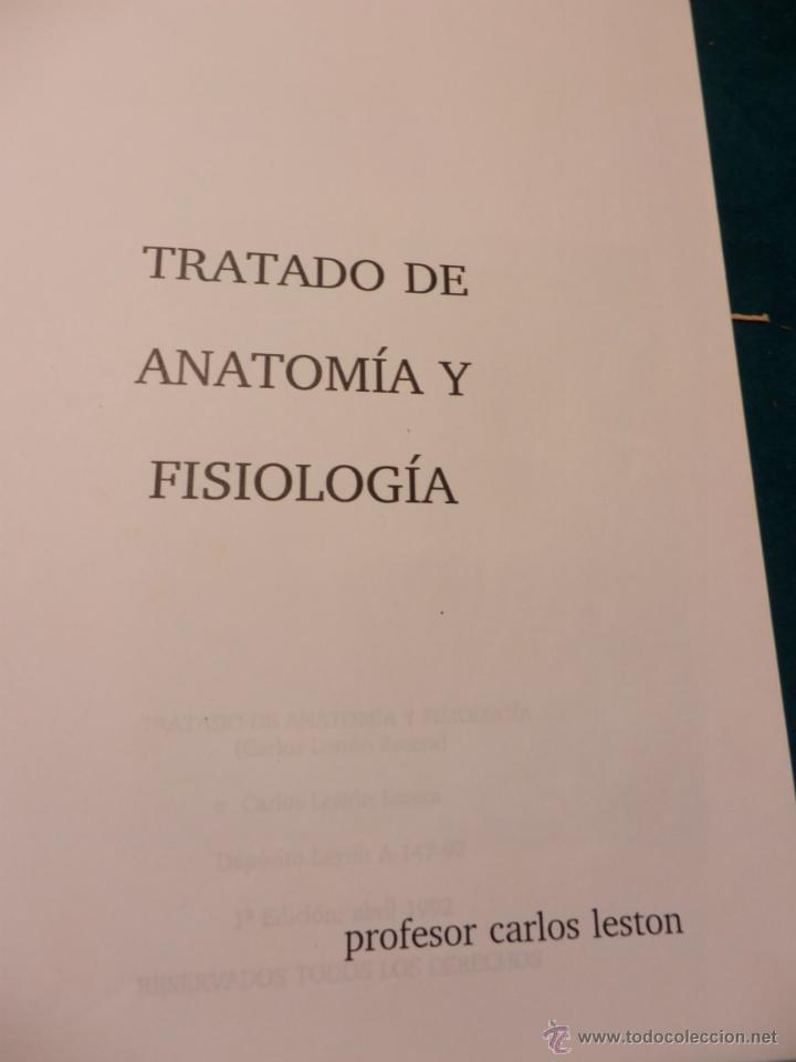 tratado de anatomía y fisiología (institución d - Comprar Libros de ...