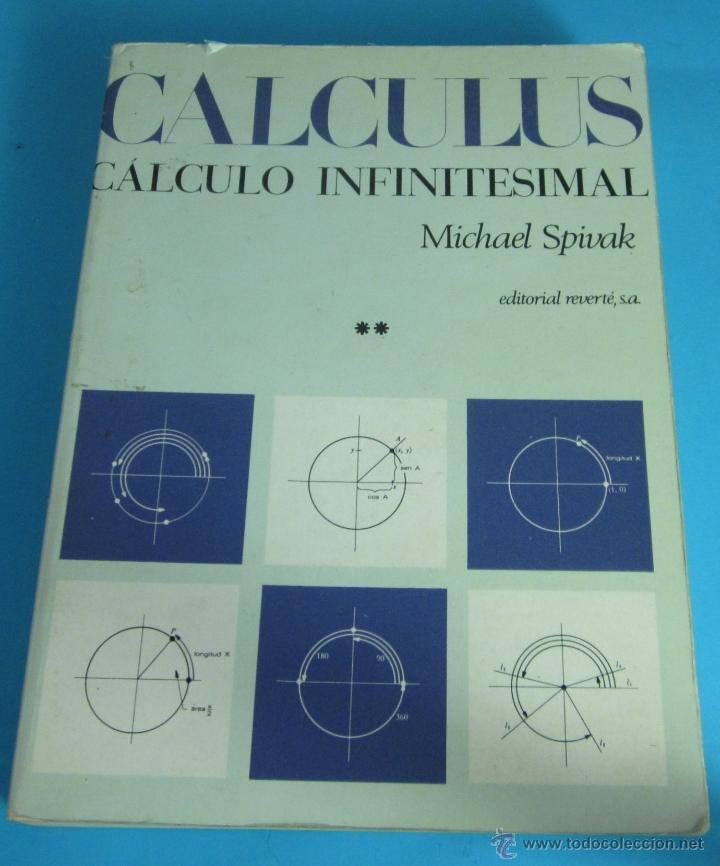 libro calculo infinitesimal spivak