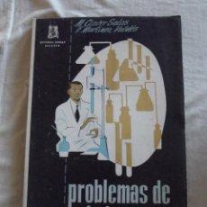 Libros de segunda mano de Ciencias: PROBLEMAS DE QUIMICA POR M. CLAVER SALAS Y F. MARTINEZ VALDES. Lote 45802156