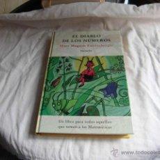 Libros de segunda mano de Ciencias: EL DIABLO DE LOS NUMEROS.HANS MAGNUS ENZENSBERGER.EDICIONES SIRUELA MADRID 1997.-2ª EDICION. Lote 195224807